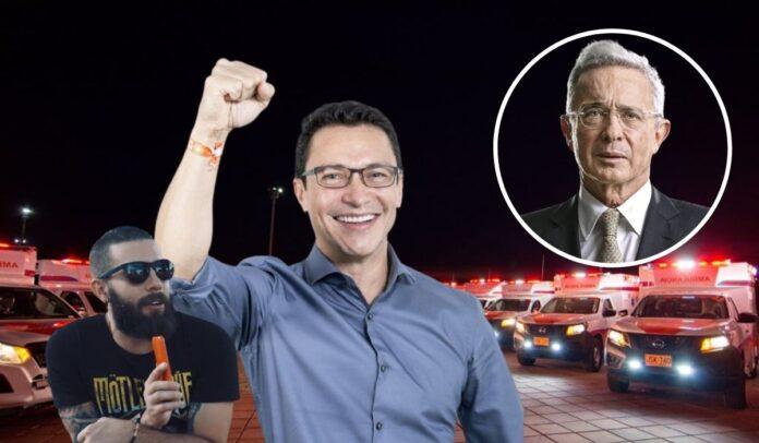 Levy Rincón se fue contra Uribe tras críticar entregas de Ambulancias