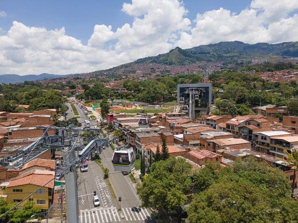 Metrocable Picacho permitirá la reducción de 979 toneladas de CO2