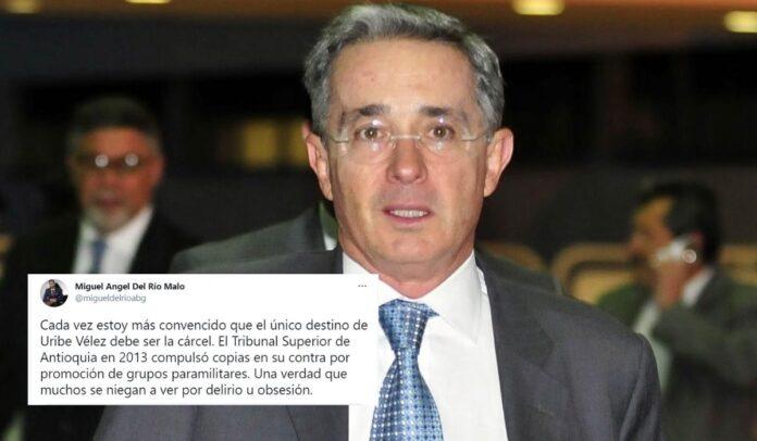 Miguel Ángel del Río reveló copias que vinculan a Uribe con los paramilitares