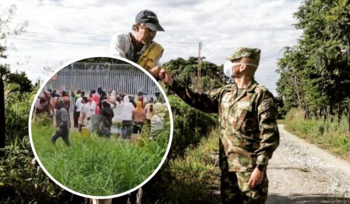 Militares apoyaron el paro nacional indefinido