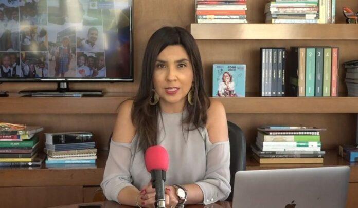 Ministra de Educación María Victoria Angulo