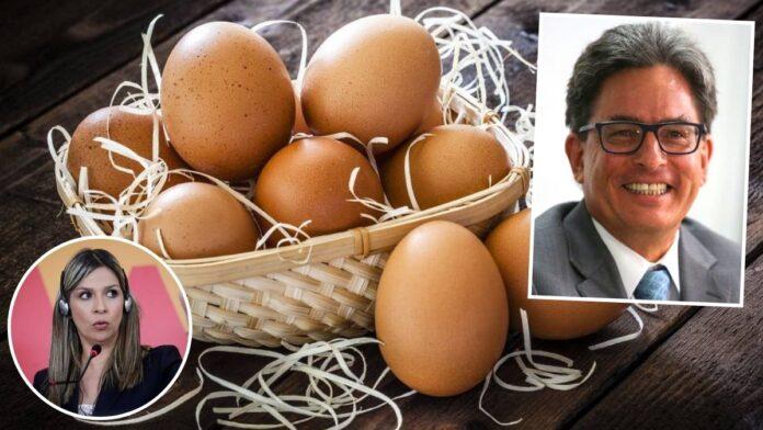 Una docena de huevos en $1.800? Alberto Carrasquilla, quien define  políticas económicas del país, no sabe cuánto vale un huevo