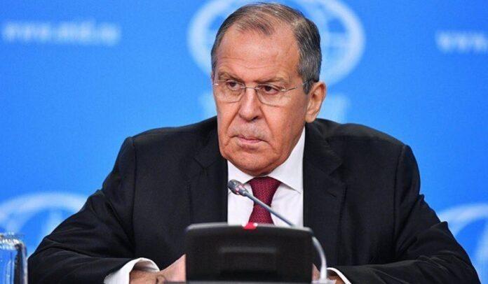 Ministro de exteriores ruso Serguéi Lavrov