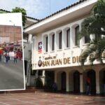 Protesta por salarios en Hospital San Juan de Dios