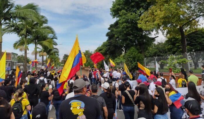 Protestas continúan en Colombia
