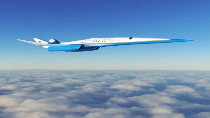 Se propone que el avión tenga una velocidad de 1.380 mph. Crédito Zuma Press