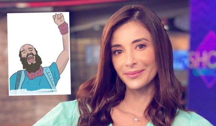 Alejandra Giraldo sobre Lucas Villa