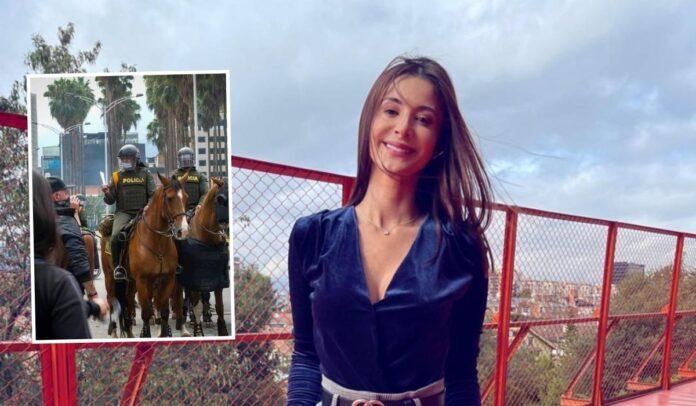 Alejandra defendió a los animales