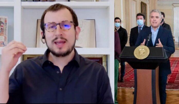 Alexander Torrenegra se despacha contra el gobierno Duque