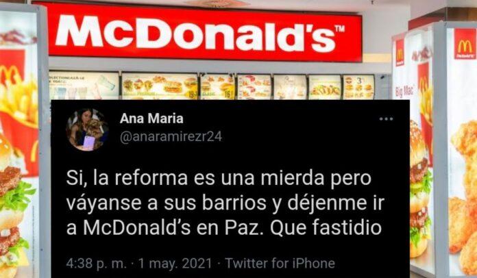 Ana María quedó en ridículo ante los colombianos