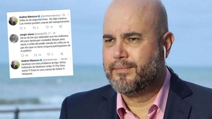 Andrés Marocco en Twitter