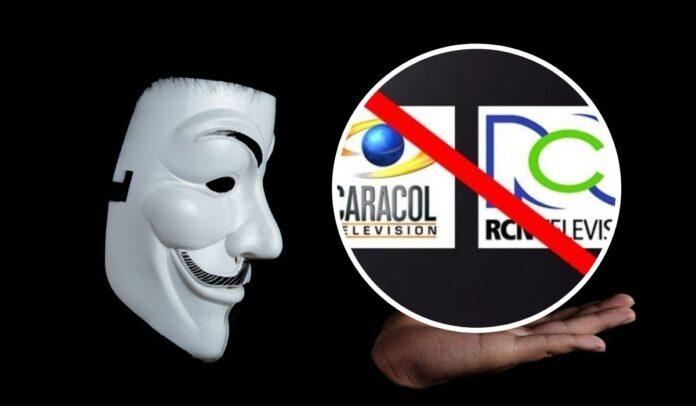 Anonymous atacará a Caracol y RCN