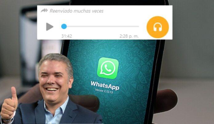 Audio uribista quiere engañar a los colombianos