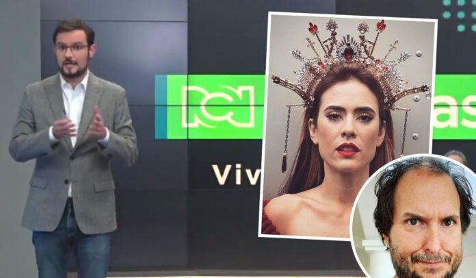 Carolina Ramírez y Andrés Parra arremeten contra Noticias RCN