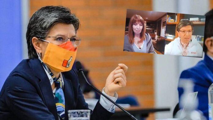 Críticas a Claudia López