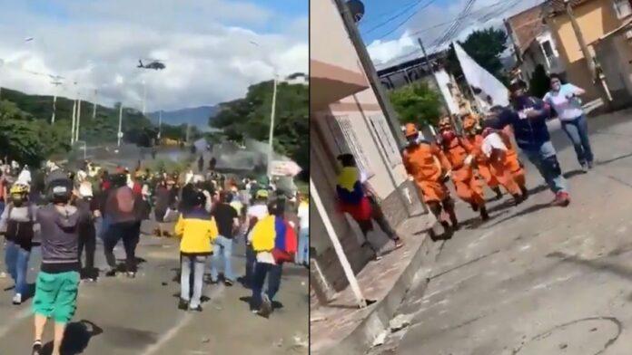Disturbios en Buga