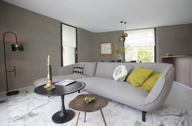 En el interior, la increíble propiedad se parece a cualquier otra casa moderna.Crédito AP