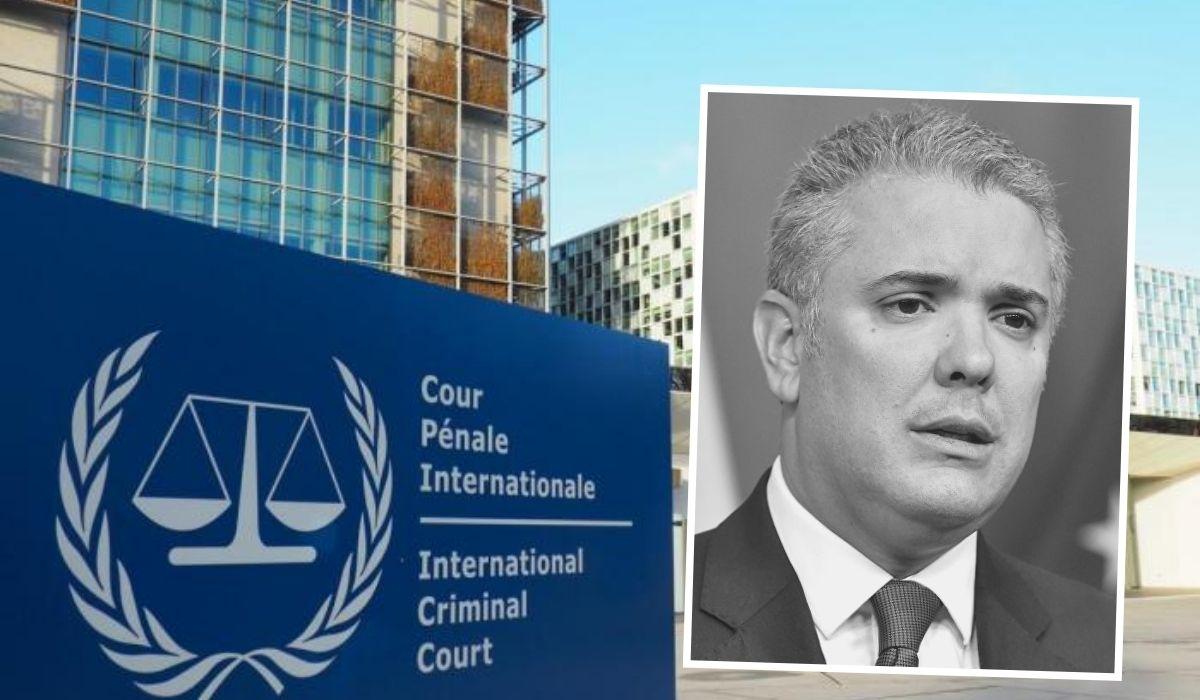 Duque fue señalado ante la Corte Penal Internacional