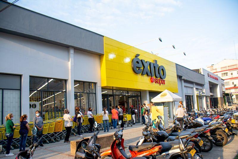 Éxito se ha expandido por todo el territorio colombiano