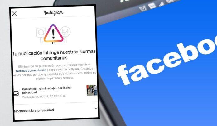 Facebook e Instagram censuran material del paro nacional en Colombia