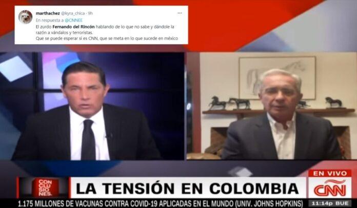 Fernando del Rincón recibió amenazas por parte de algunos uribistas