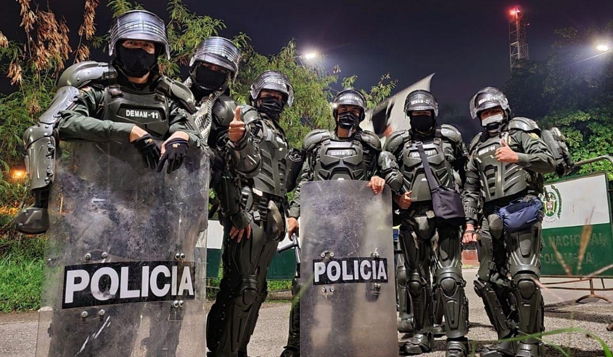 Gobierno Duque prepara más gastos en la Policía y ESMAD