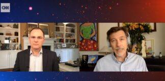 Guillermo Arduino (CNN) con Hernando Zuleta (Uniandes)