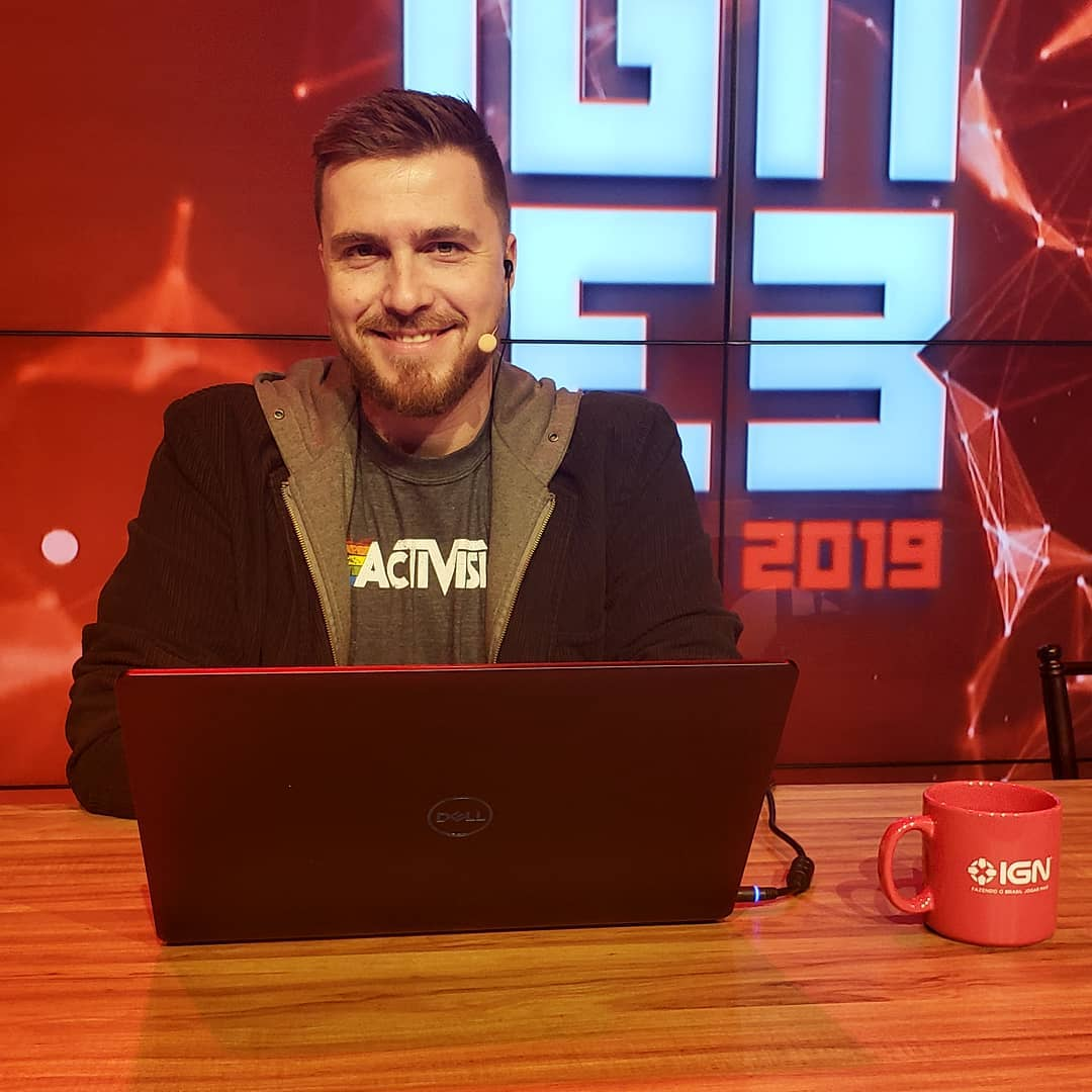 Gustavo Petró periodista gamer Brasil.