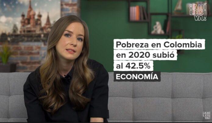 Inna Afinogenova sobre las protestas en Colombia