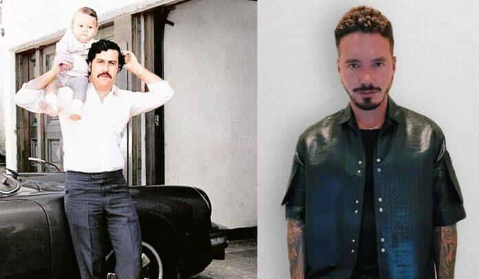 J Balvin confesó ser amigo del hijo de Pablo Escobar