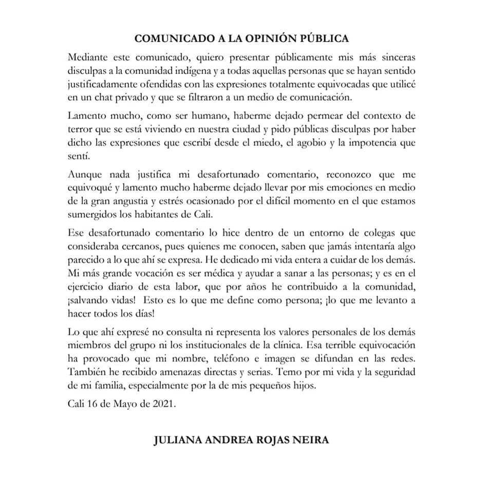 Juliana Rojas Neira