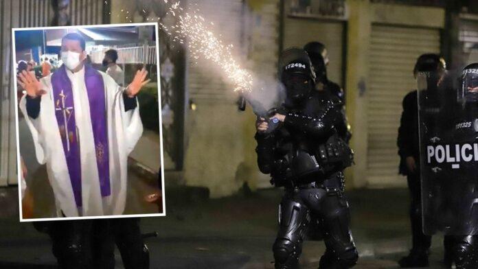La crítica de un sacerdote a la Policía