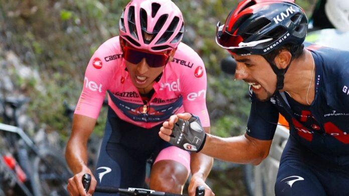La postal de la etapa 17 del Giro de Italia