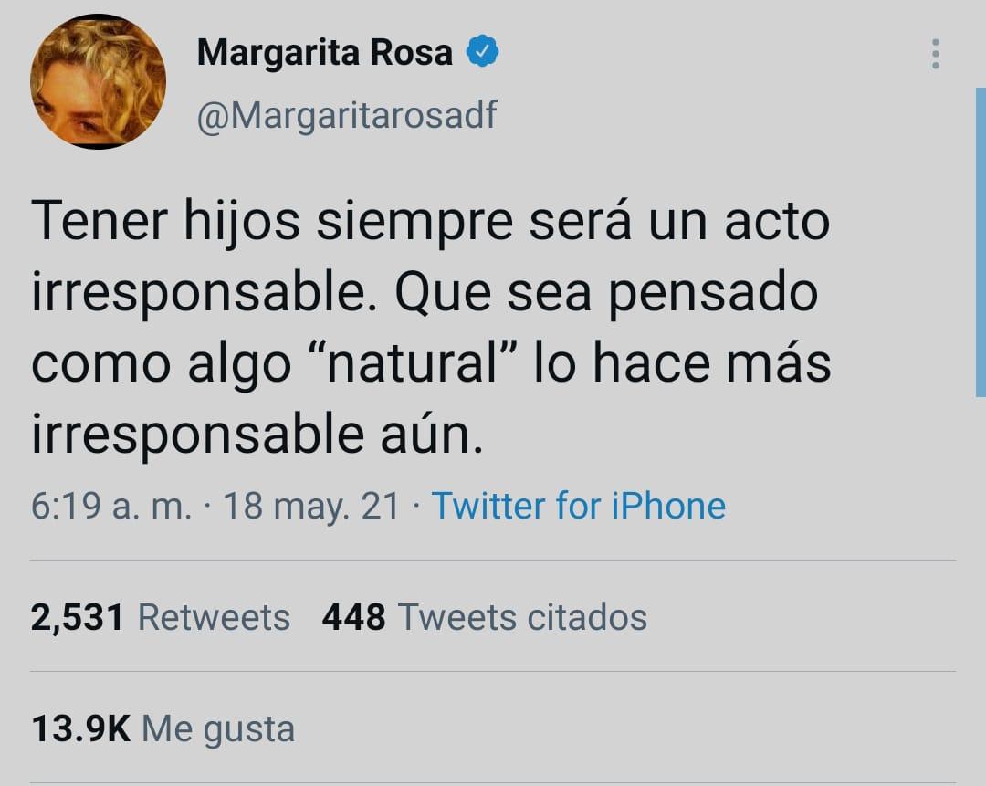 Margarita Rosa hijos