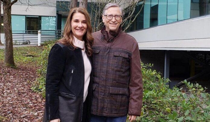 Melinda French y Bill Gates