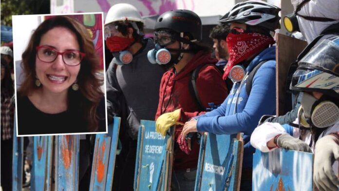 Paola Ochoa sobre primera línea