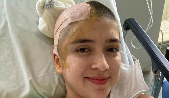 Paula Ágredo tuvo una cirugía exitosa