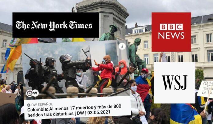 Prensa internacional le da al gobierno Duque