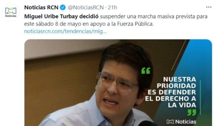RCN siendo RCN