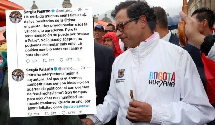 Sergio Fajardo sobre Gustavo Petro