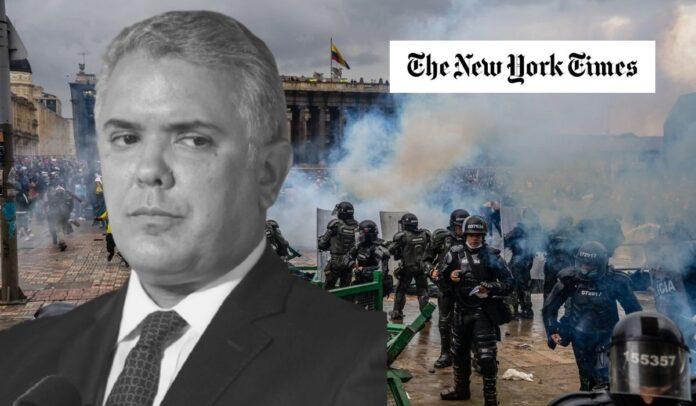 The New York Times sobre las protestas en Colombia