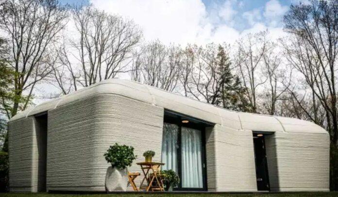 Una pareja holandesa se ha mudado a la primera casa totalmente impresa en 3D de Europa Crédito AFP