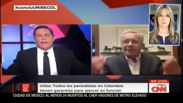 Uribe en CNN