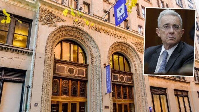 Uribe en seminario de la NYU