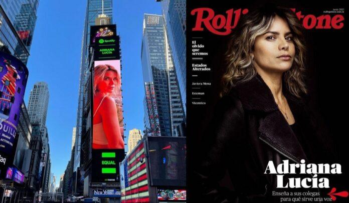 Adriana Lucía cosecha sus luchas populares