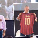 Aficiano del Deportivo Tolima le dedicó un mensaje a Duque