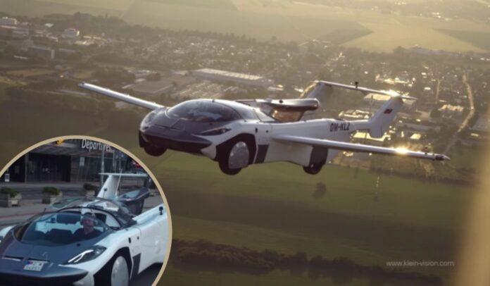 AirCar, el coche volador futurista