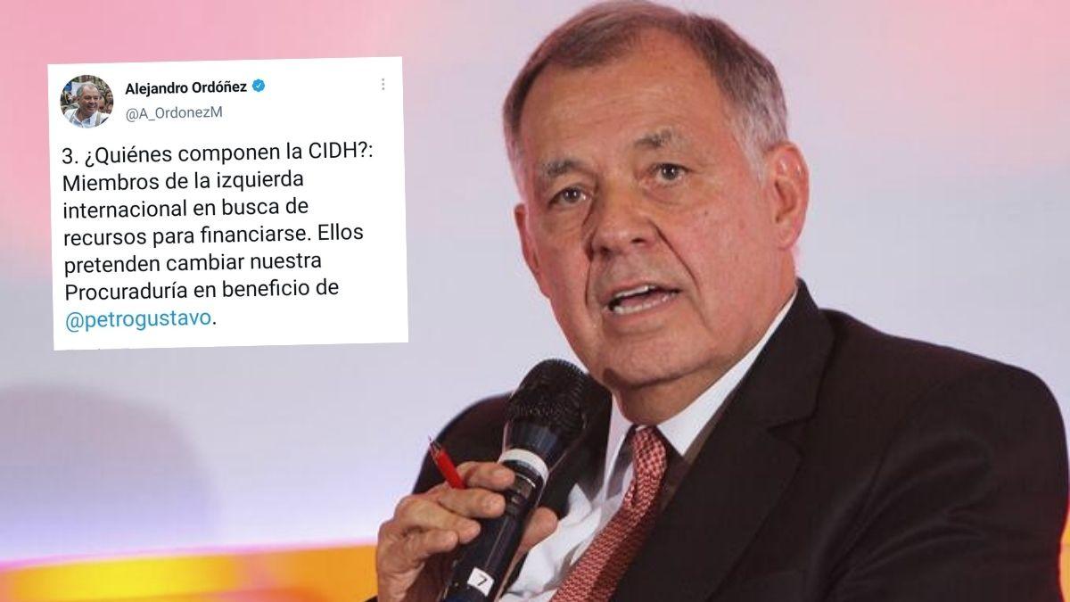 Alejandro Ordóñez sobre la CIDH