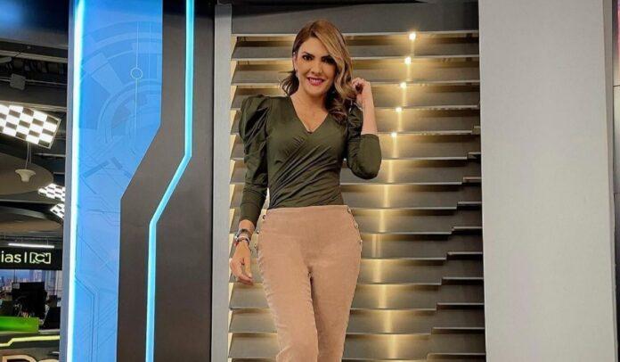 Ana Karina Soto, presentadora de Mañana Express
