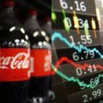 Cae valor de la Coca Cola en la bolsa